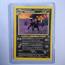 Umbreon Pokemon Card 32/75 Neo Discovery Near Mint Minus Condition (NM-)
