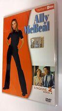 Ally McBeal serie televisiva stagione 2 vol. 4 DVD 4 episodi dura 180 minuti