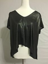 NEW Urban Outfitter Sparkle And Fade Oversized Shining Tunic Top Tee Sz M 10-12