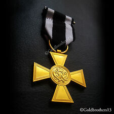 MILITARY MERIT CROSS MEDAL 1ST CLASS, 1864 HIGHEST BRAVERY AWARD PRUSSIA COPY