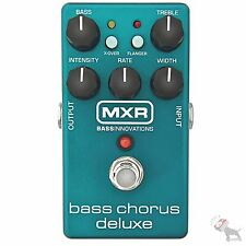 MXR Bass Chorus Deluxe M83 Flanger Crossover Electric Bass Guitar Effects Pedal