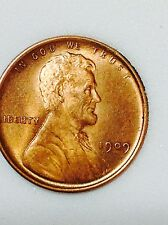 1909 VDB lincoln wheat cent MS