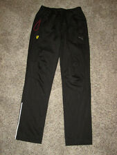 PUMA FERRARI TRACK SWEAT PANTS MEN SMALL BLACK  STYLE NO. 564572 HARD TO FIND