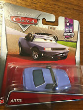 Disney Cars Mattel Die Cast Piston Cup Reporters Artie NEW