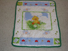 SUZYS SUZY'S ZOO BABY QUILT BLANKET WITZY DUCK SUZY SPAFFORD