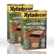 2 x Xyladecor Gartenholz-Öl Natur rötlich 2,5l