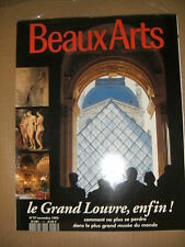 Beaux Arts Magazine N°117 Max Bill Grand Louvre Bill Brandt Gaultier Le Niger