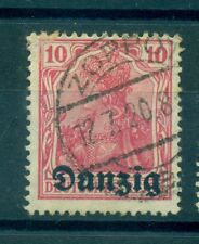 FREE CITY OF DANZIG - GERMANY 1920/1921 10 Pf