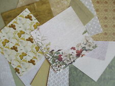 "Falling Leaves 6x6"" Scrapbook Papers 16 sheets by First Edition - Autumn colours"
