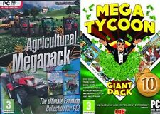 Agricultural Mega Pack & Mega Tycoon Giant Pack   new&sealed