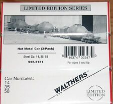 Walthers  ~~3 Pack~~Hot Metal Car Kits--New Old Stock--- HO Scale