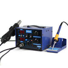 YIHUA 220V 2 in 1 Hot air gun Soldering Station Rework demolition station 720W