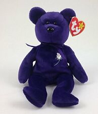 RARE 1997 TY PRINCESS DIANA BEANIE BABY 1ST EDITION MWMT PVC/CHINA/NO SPACE VHTF