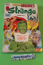 SPECIAL STRANGE ALBUM N9 SPECIAL ORIGINES - MARVEL FRANCE COMICS