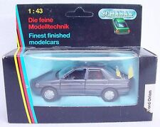Schabak Germany 1:43 FORD ESCORT ORION Detailed Model Car #1092 #1 NMIB`92 RARE!