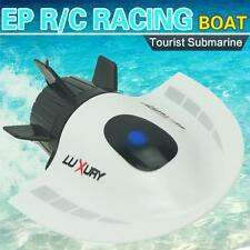 RC Toys Mini Submarine Toy 4CH High Powered Speed Remote Control Boats 2.4G Plas