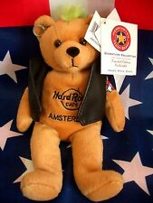 HRC Hard Rock Cafe Amsterdam Punk Bear Mohawk 2009 Green Hair Herrington