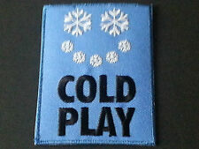 PUNK ROCK METAL MUSIC SEW/IRON ON PATCH:- COLD PLAY