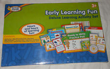 NIP Active Minds Deluxe Early Learning Activity Set Phonics Wipe Off Cards NEW