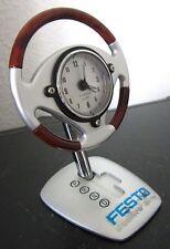LENKRAD UHR Festo Steering wheel Dekoration alarm clock Sammlerstück Reklame gut