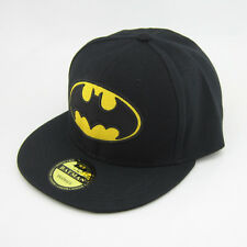 New Dc Comics batman hiphop Snapback Black Adjustable baseball cap flat hat Gift
