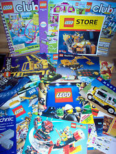 Gros Lot de Pub LEGO - Livre - Catalogue - Feuillet - Book Collection 1990 2016