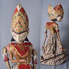 1 Holz Puppe Wayang Golek Marionette Original rod puppet GO37