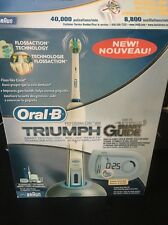 Oral-B Triumph Smart Guide Professional Care Toothbrush 9950 *New