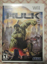 Nintendo Wii The Indredible Hulk (Manual, box and game)