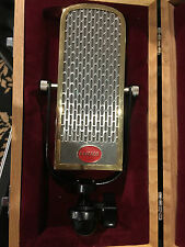 GOLD FABRONI RIBBON MIC LUNDAHL VOCAL RIBBON MICROPHONE RARE Shelby Lynne Vocmic