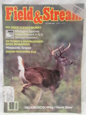 Field & Stream Magazine Oct. 1984 Do Deer Scents Work~Snow Tracking Elk