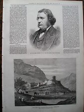1879 Afghan WAR Khyber Pass; SIR fitzjames Stephen stampa Illustrated London News