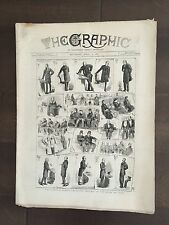 """""""THE GRAPHIC"""" (A Beautifully Illustrated British Weekly Newspaper)-April 2, 1884"""