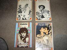 4 x COLETTE P/B   CLAUDINE   CHERIE  LE VOYAGE EGOISTE  PENGUINE BOOKS