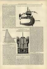 1887 Allen's pneumatico Rivetto MACCHINA A TENUTA STAGNA BUNKER PORTE Cochran birkenhead