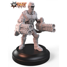 Wild West Exodus Scout with Twin Slug Launcher Confederate Rebellion miniature