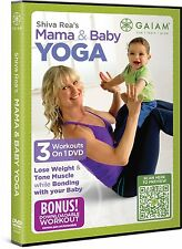 DVD - Exercise - Fitness - Shiva Rea: Mama & Baby Yoga - 3 Workouts on 1 DVD