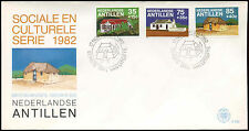 Netherlands Antilles 1982 Local Houses FDC First Day Cover #C26735