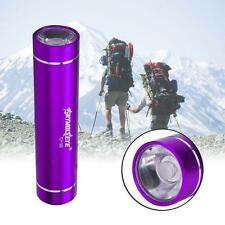 CREE XM-L XPE LED 1AA Flashlight Torch 1200Lumens Aluminum For Outdoor Purple AD