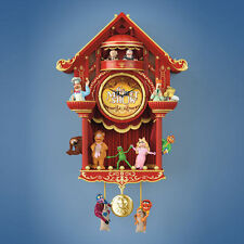 Bradford Exchange Disney The Muppet Show Wall Cuckoo Clock w/ Light & Sound NEW