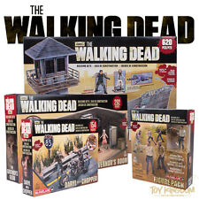 McFarlane Building Sets Walking Dead TV 1 - COMPLETE SET - DARYL/GOVERNOR/PRISON