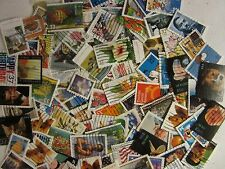 Large US postage stamp lot used ALL DIFFERENT 30 to 39 CENT STAMPS FREE SHIPPING