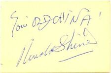 Ronald Shiner + Harry Worth signed autograph album page 1960s English Comedians