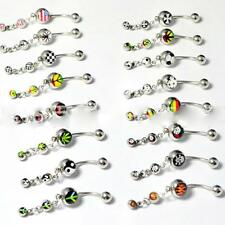 Jewelry Accessories Dangle Navel Ring Belly Button Ring Fashion Body Piercing
