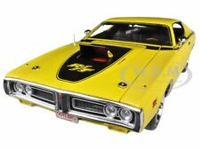 1971 DODGE CHARGER R/T YELLOW HEMI 50TH ANNIVERSARY 1/18 AUTOWORLD AMM1031
