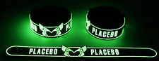 Placebo NEW! Glow in the Dark Rubber Bracelet Wristband  GG341