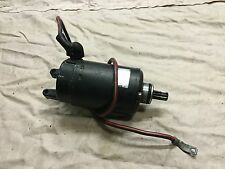 Kawasaki Zrx400 Starter Motor From A 1996 Model