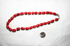 All Natrual Chinese Coral Necklace