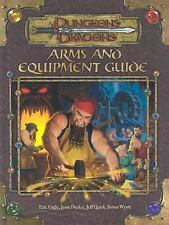 Arms and Equipment Guide (Dungeons & Dragons d20 3.0 Fantasy Roleplaying Accesso