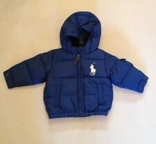 POLO RALPH LAUREN BOYS ROYAL PUFFA JACKET AVAILABLE S (8 YEARS) RRP£169 NOW £75